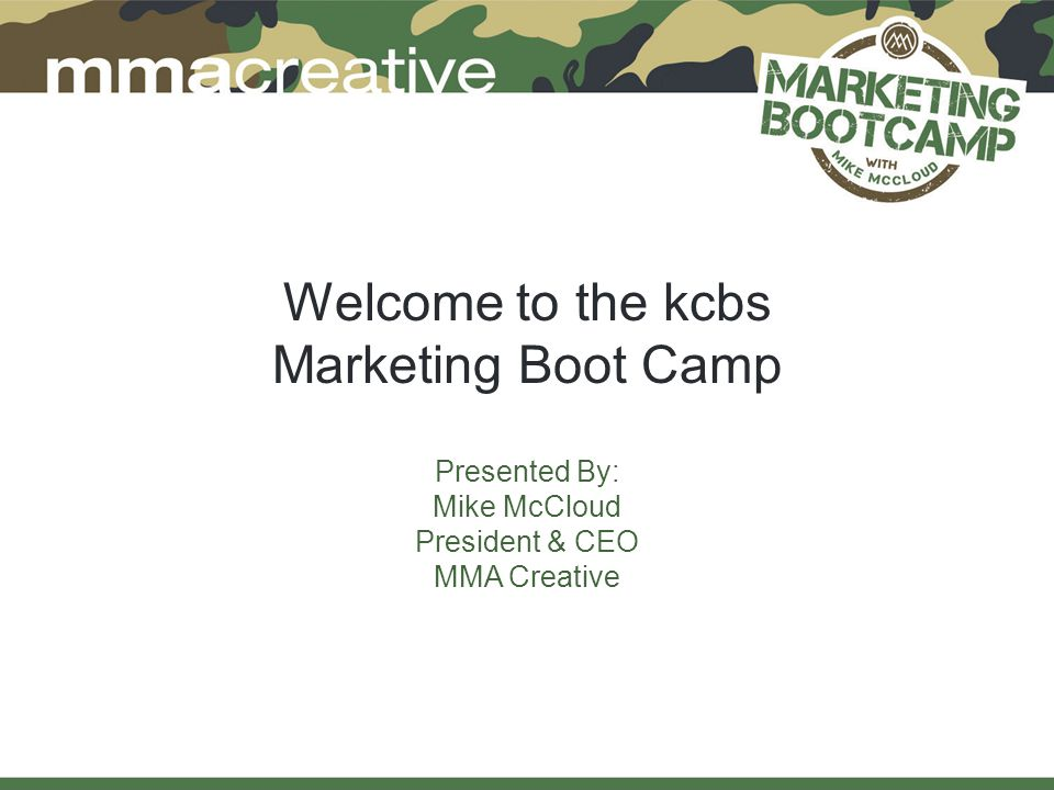 ABout MMA Creative 20-year old full-service advertising agency based in TN Became Official Agency of the KCBS in 2007 Three major objectives for KCBS: Build the KCBS Brand Grow KCBS Membership Bring on National Partners Launched the Great American BBQ Tour (now in 4 th year) Launched a food-related division (Trybe Targeting) in 2010