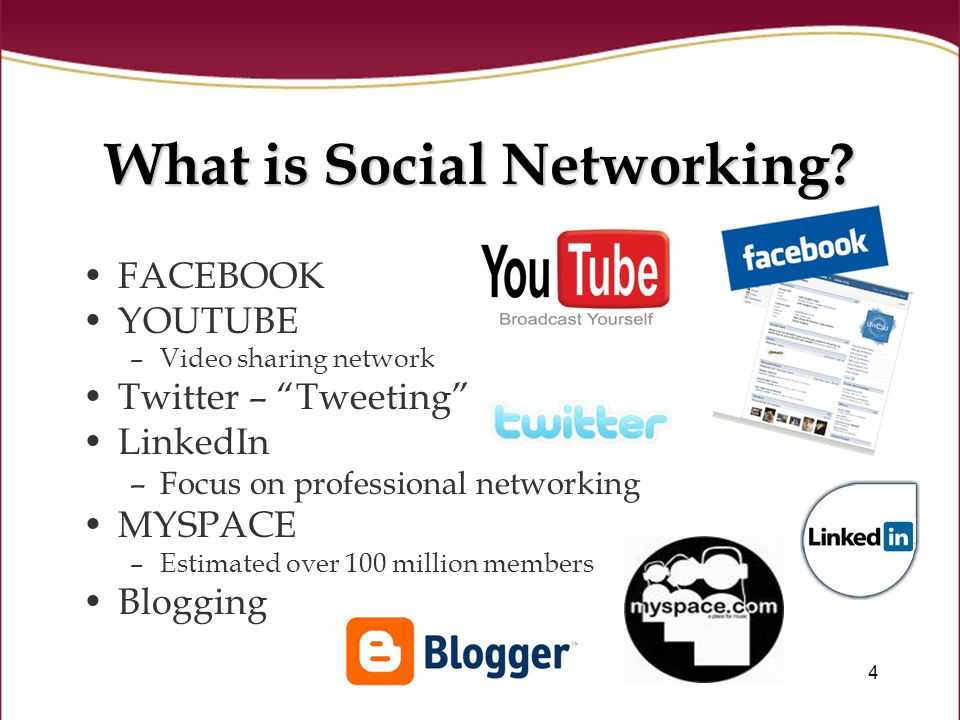 4 What is Social Networking.