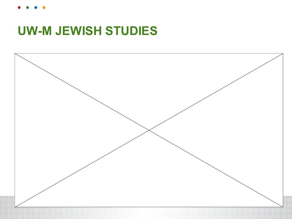 UW-M JEWISH STUDIES
