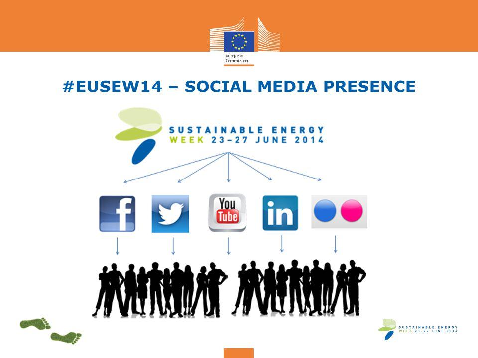 #EUSEW14 – SOCIAL MEDIA PRESENCE