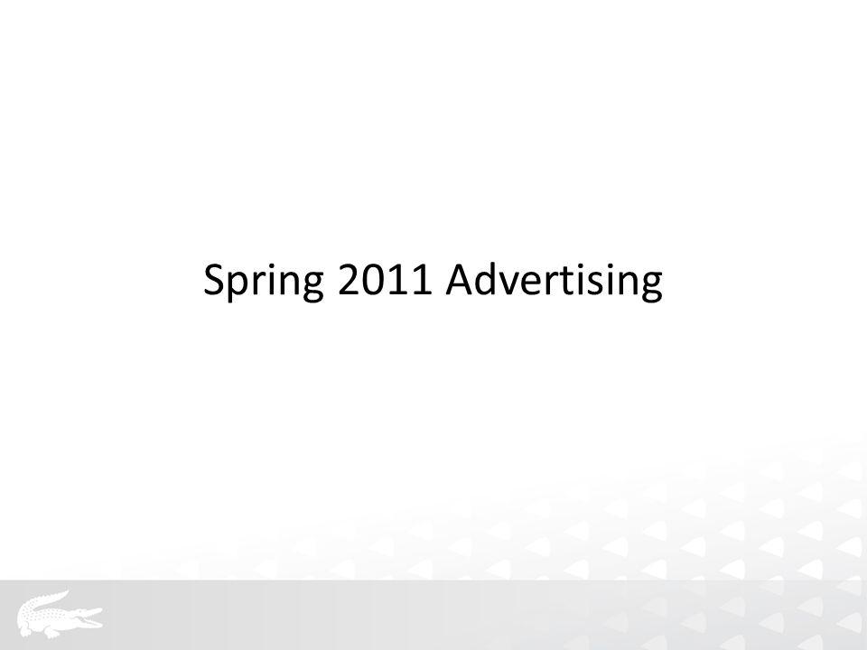 Spring 2011 Advertising