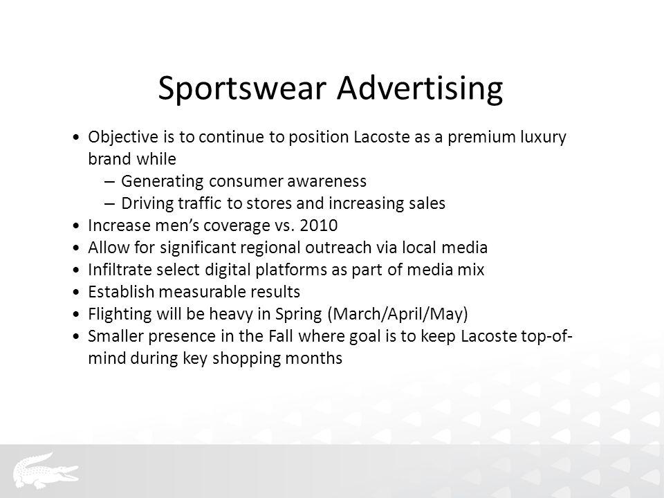 Sportswear SS11 Media Partners