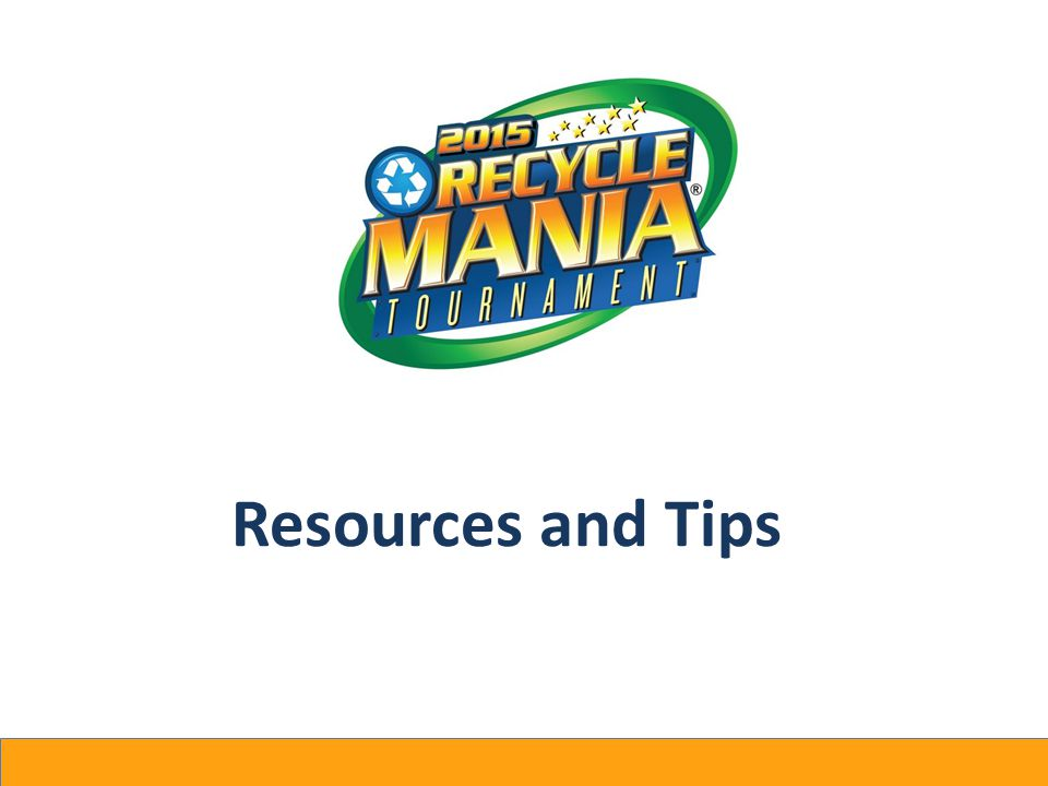 Resources and Tips