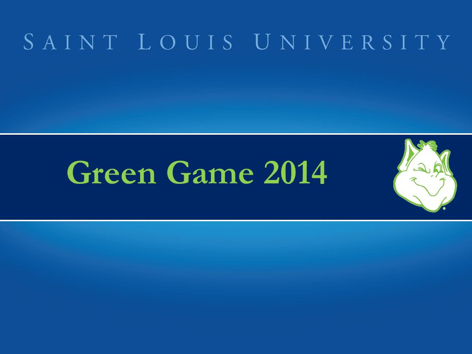 Green Game 2014