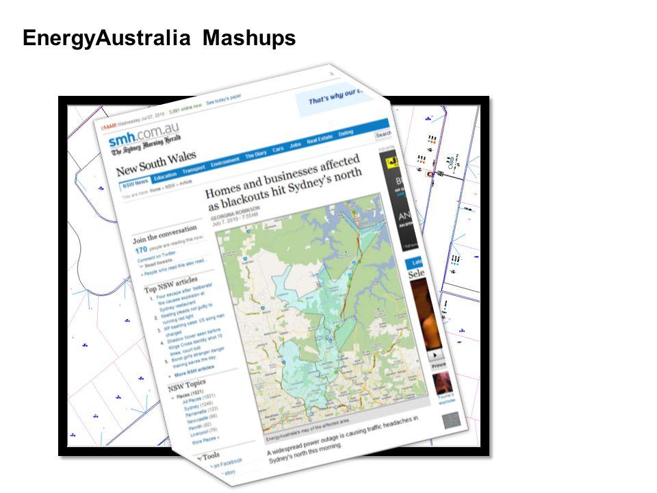EnergyAustralia Mashups