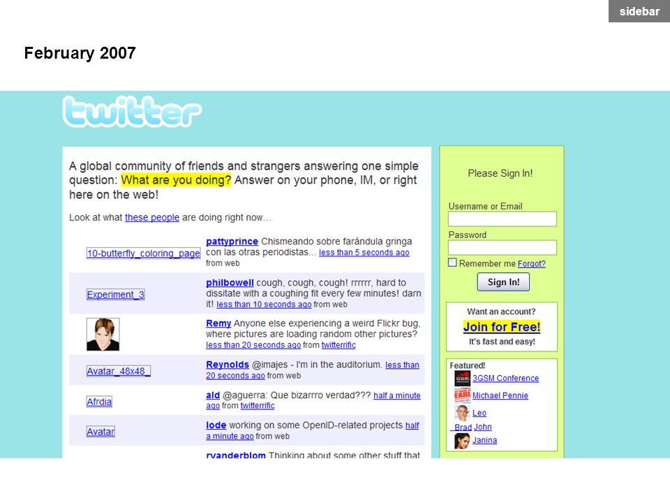 February 2007 sidebar