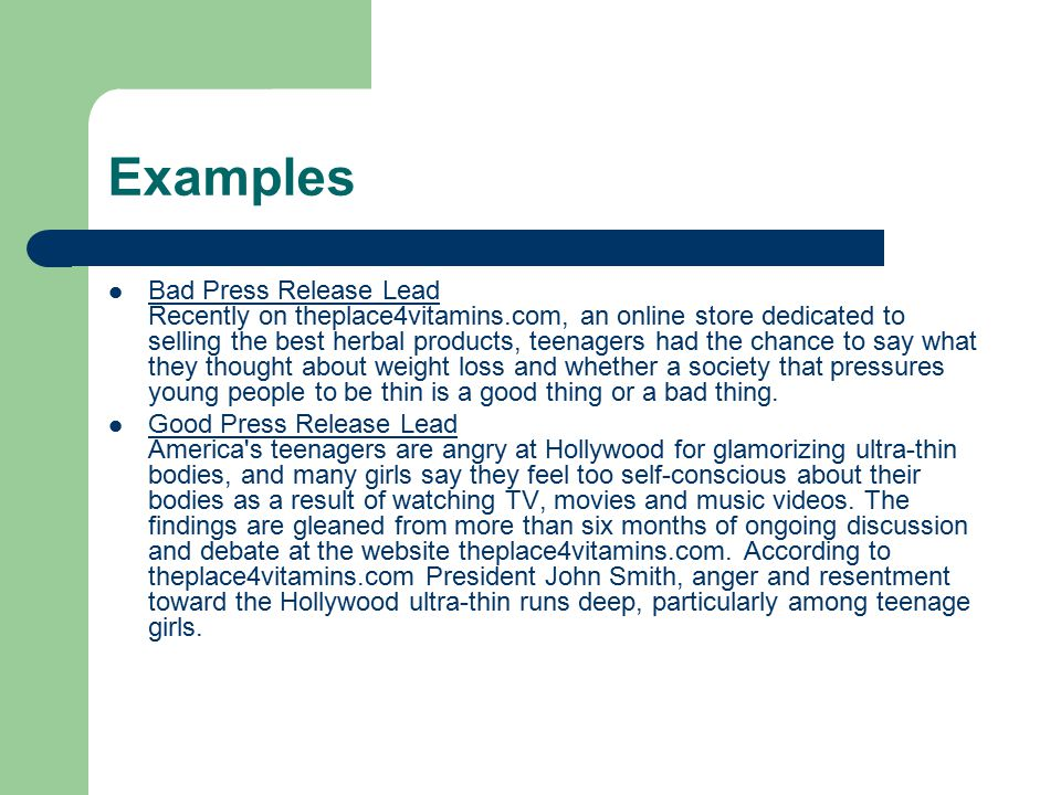 3.Leverage Press Release Content on your Website.