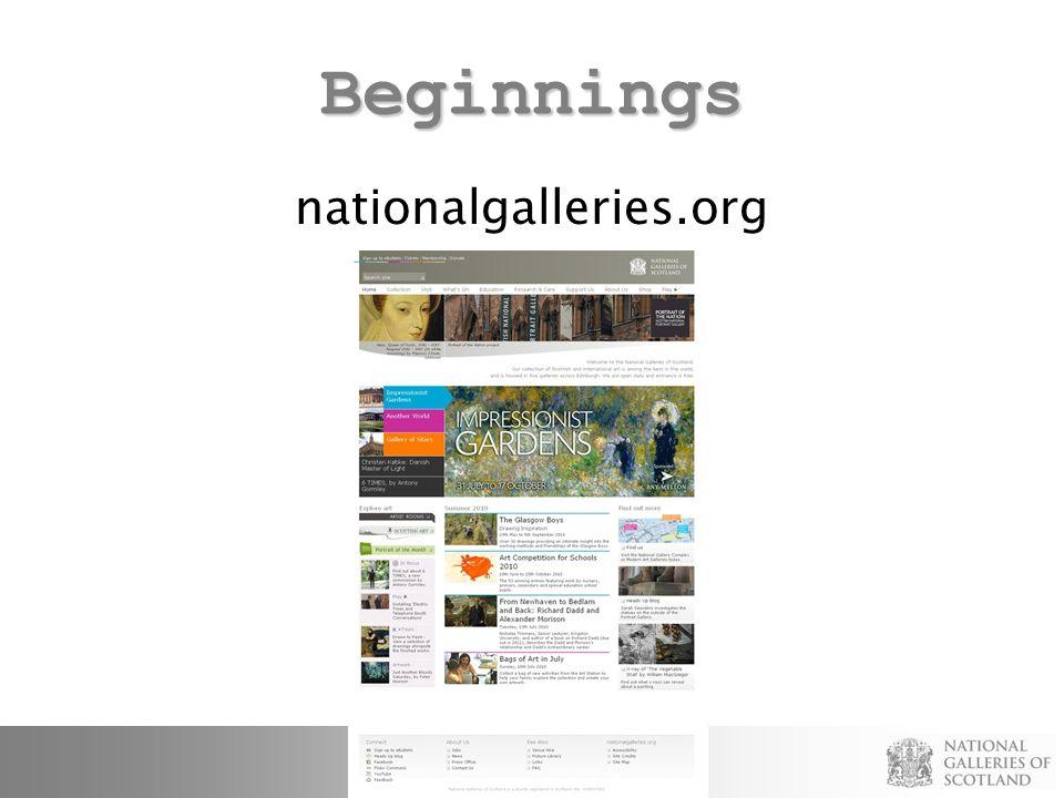 Beginnings nationalgalleries.org