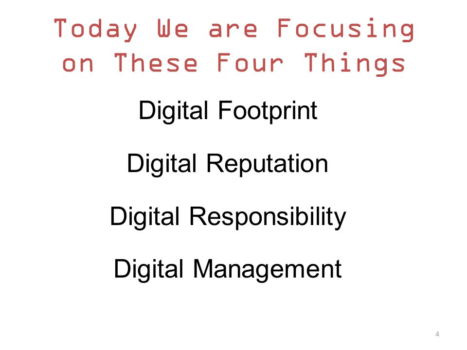 Your Digital Footprint What is it.
