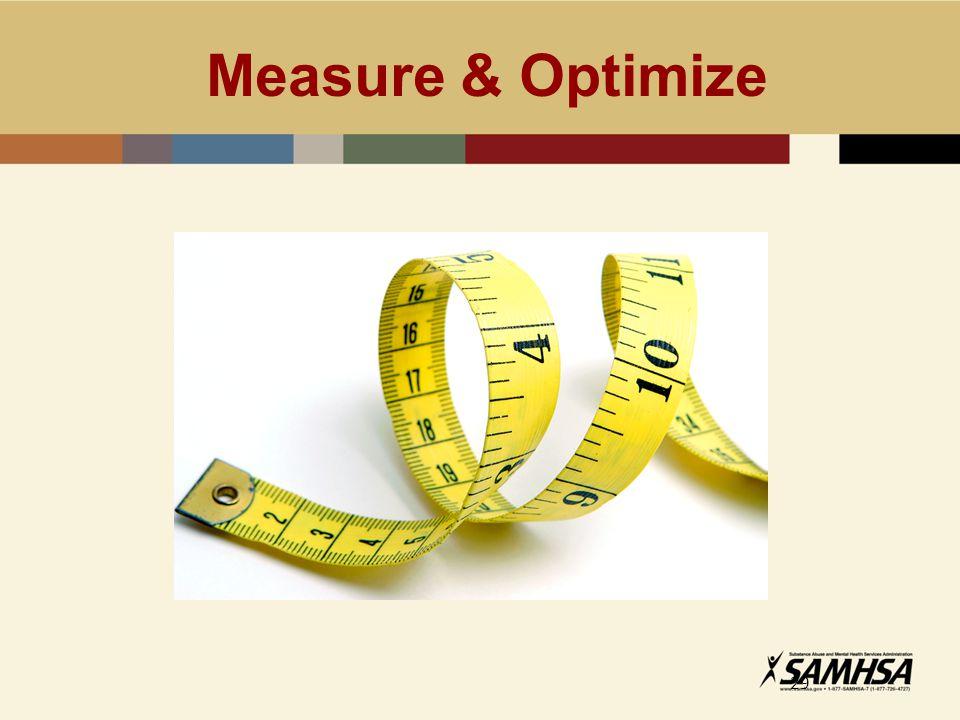 Measure & Optimize 29