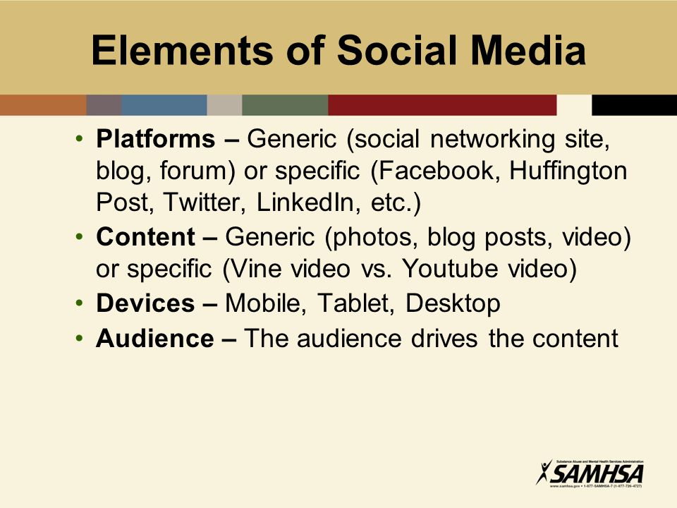 Social and New Media Social media: websites and apps that let users share and network with each other New media: means of mass communications Example: Use Facebook (social media) on smart phone (new media) Not all emerging technologies and apps are social, but many are
