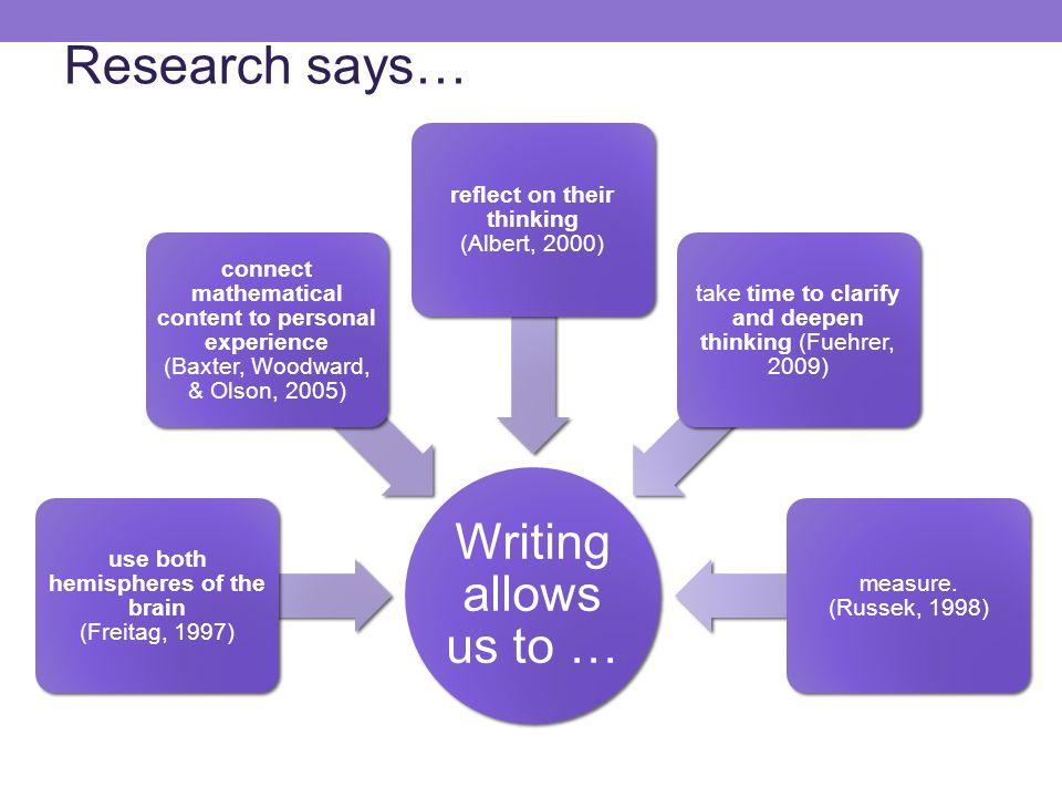 Example 1a: Mathematics Content Writing