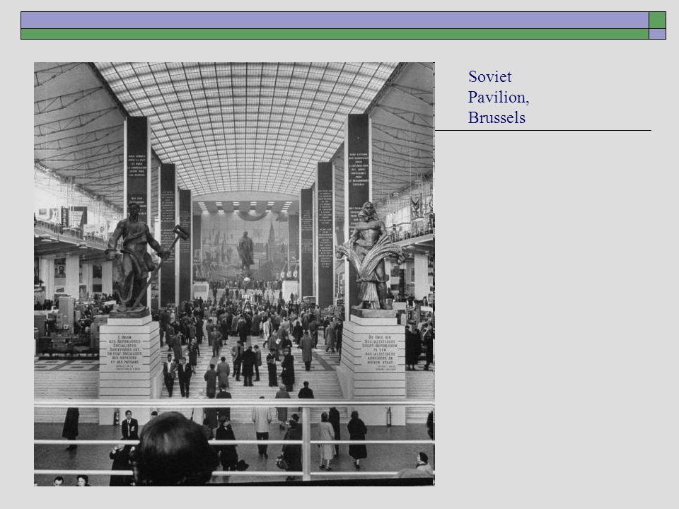 Soviet Pavilion, Brussels