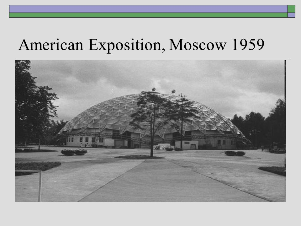 American Exposition, Moscow 1959