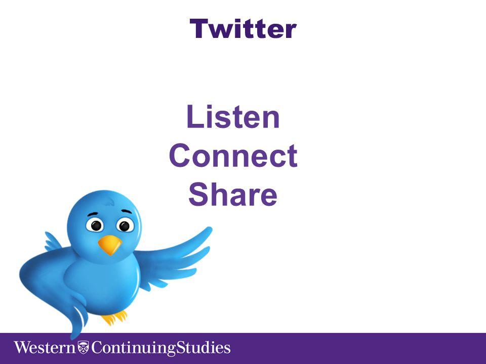 Listen Connect Share