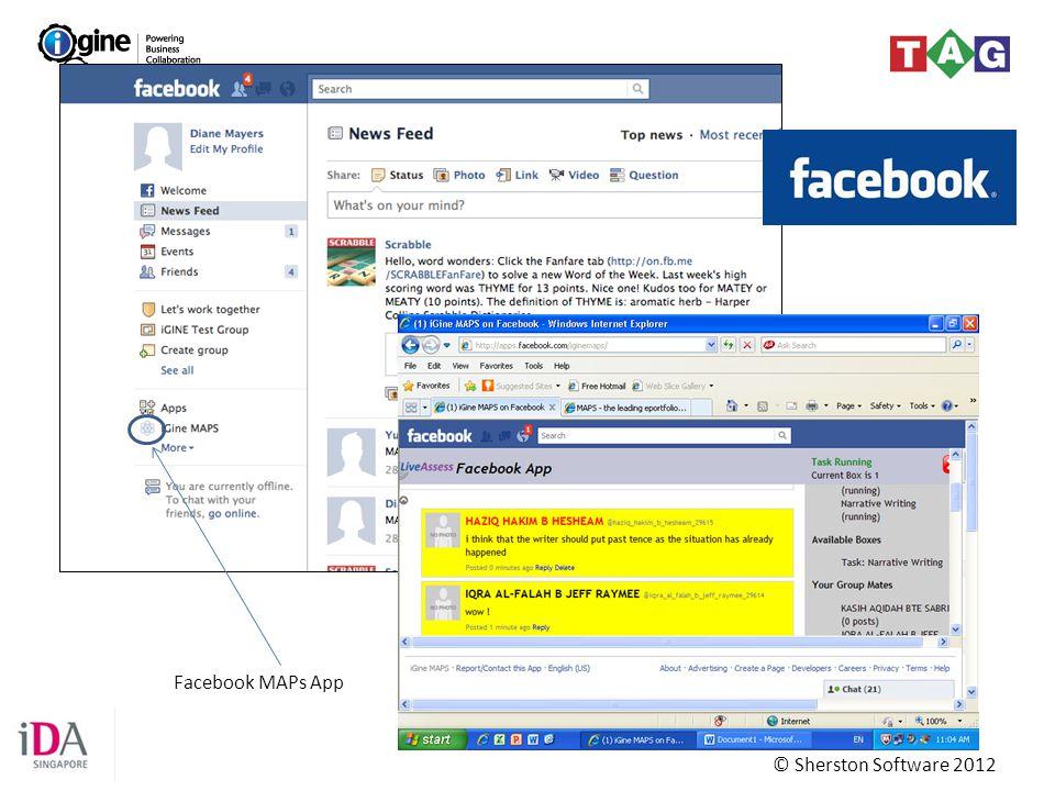 Facebook MAPs App