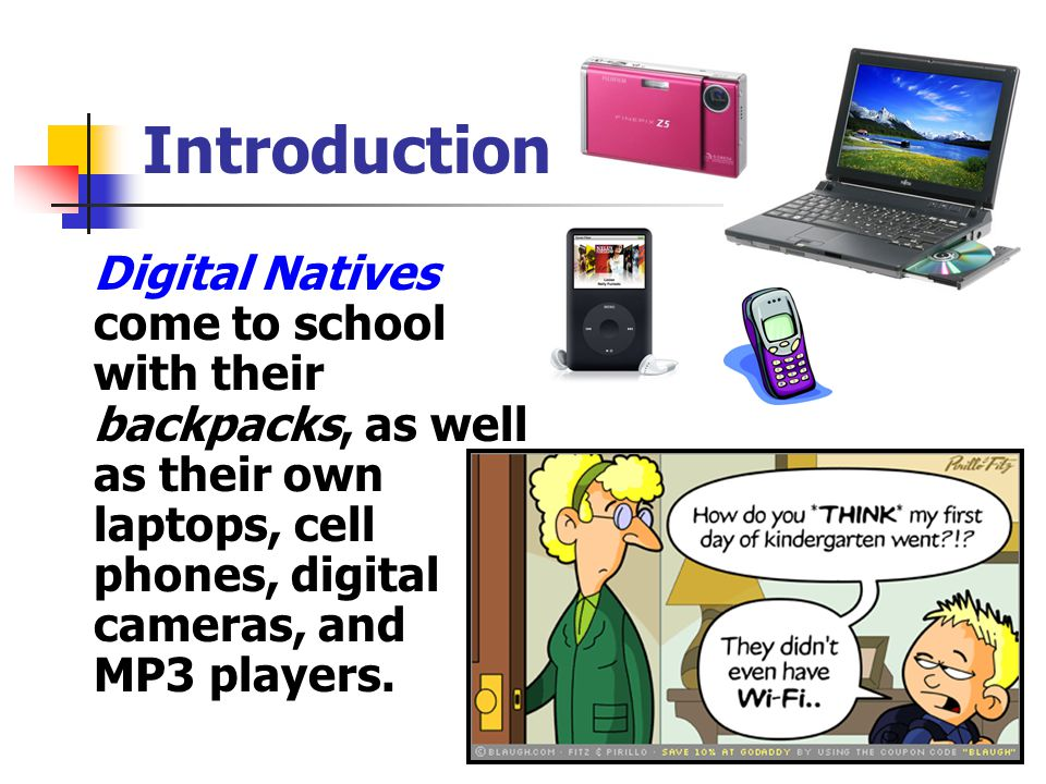 Resources Digital Natives, Digital Immigrants - By Marc Prensky (2001) http://www.marcprensky.com/writing/Prensky%20- %20Digital%20Natives,%20Digital%20Immigrants%20-%20Part1.pdf http://www.marcprensky.com/writing/Prensky%20- %20Digital%20Natives,%20Digital%20Immigrants%20-%20Part1.pdf Digital Immigrants Teaching the Net Generation - Much Ado About Nothing.
