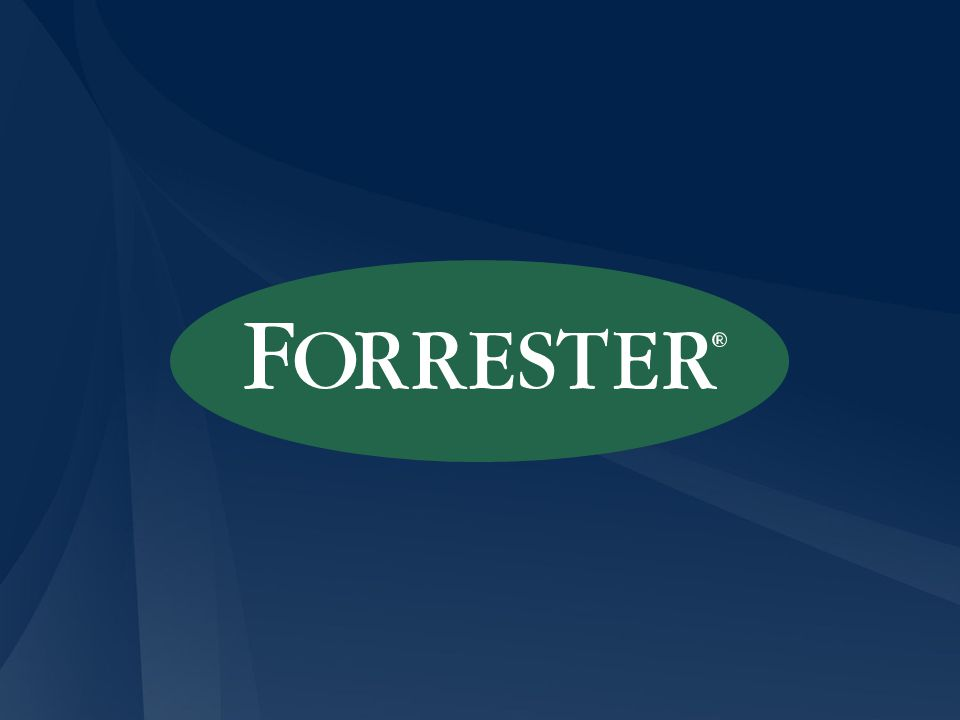 1 Entire contents © 2008 Forrester Research, Inc. All rights reserved.