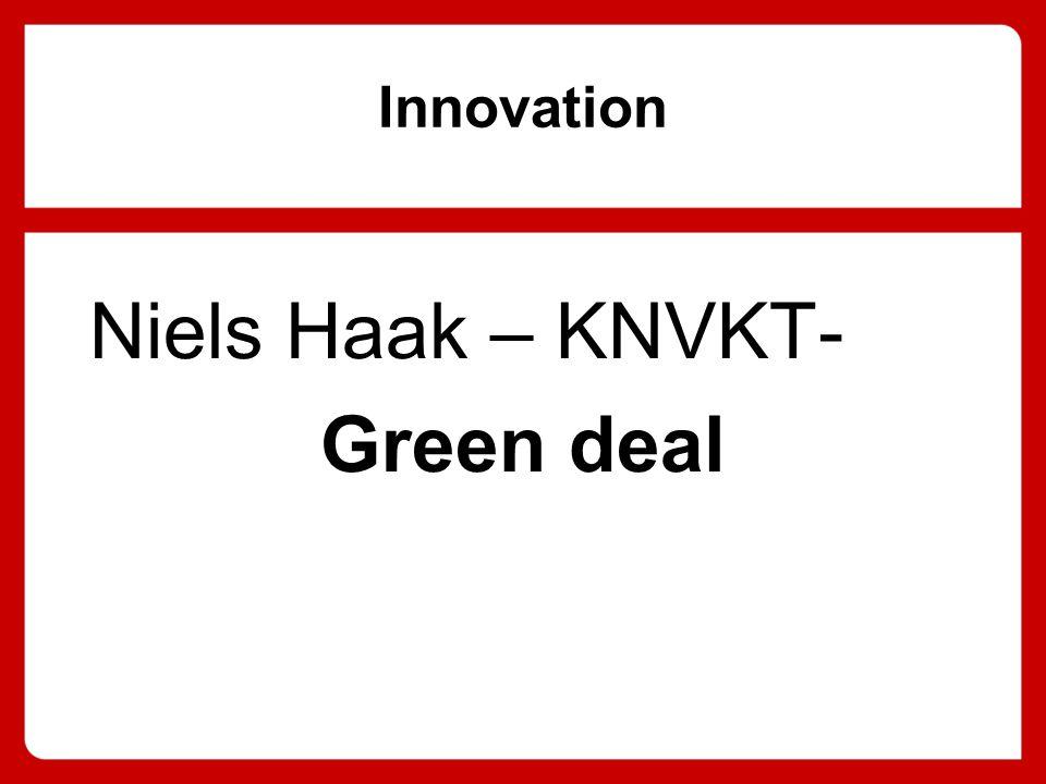 Innovation Niels Haak – KNVKT- Green deal