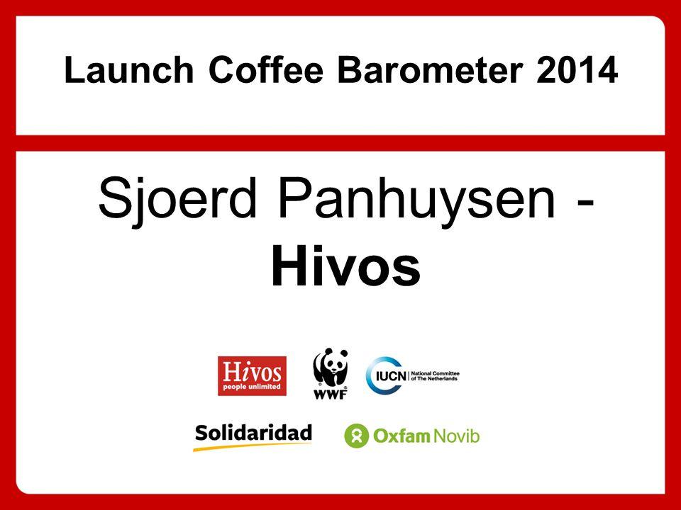 Launch Coffee Barometer 2014 Sjoerd Panhuysen - Hivos