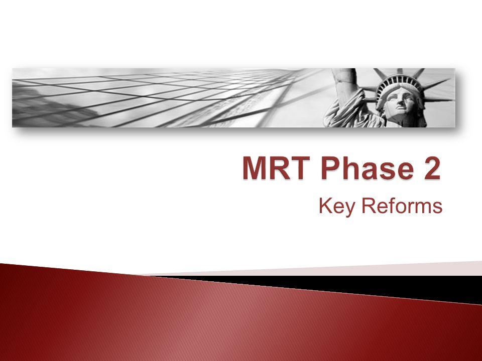 Key Reforms