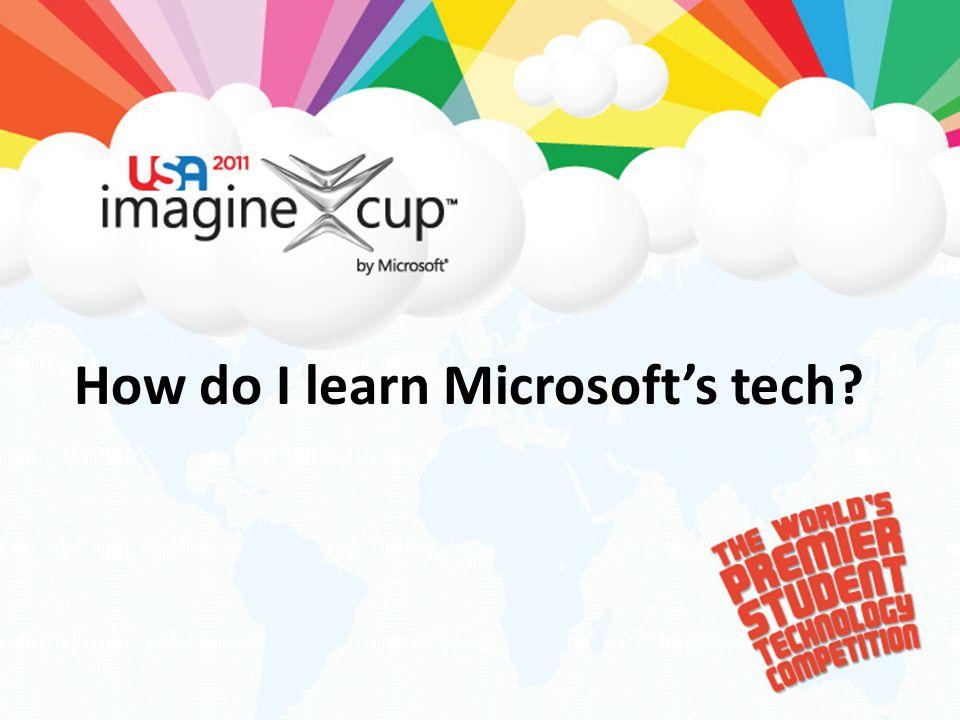 How do I learn Microsoft's tech?