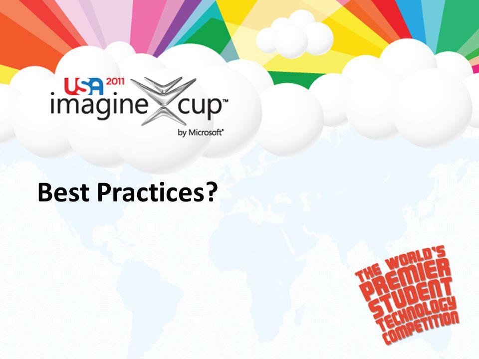 Best Practices?