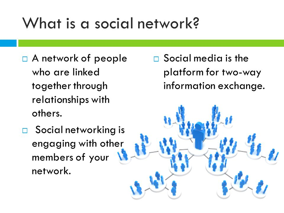 What is a social network.