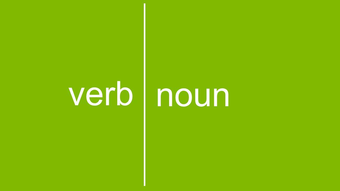 noun verb