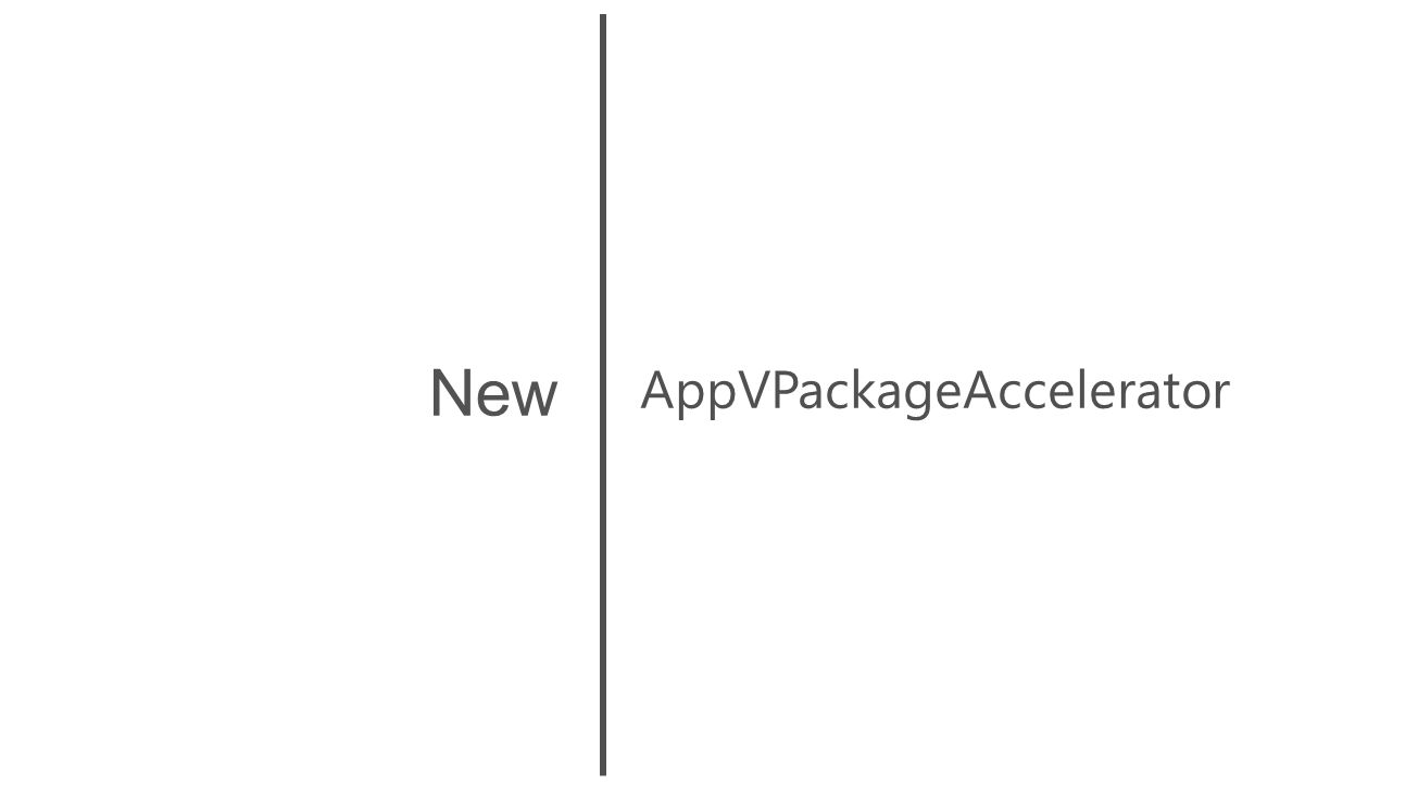 AppVPackageAccelerator New