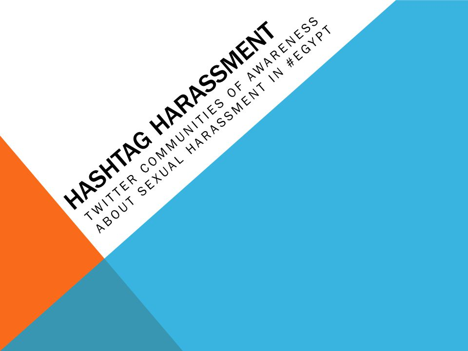 #HARASSMENT Harassment in #Egypt is staggering … 83% women report getting harassed 2.4% actually report it to police Twitter breaking down the cultural taboo of talking about harassment