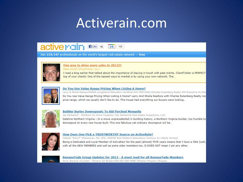 Activerain.com