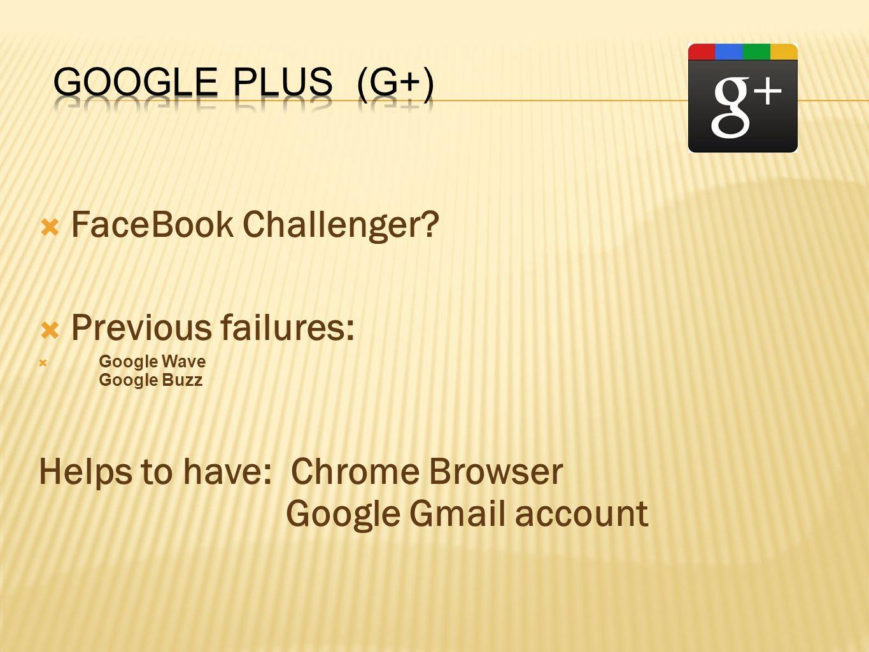  FaceBook Challenger.