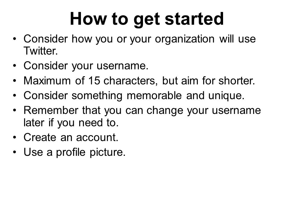 How Twitter works People can follow you on Twitter.