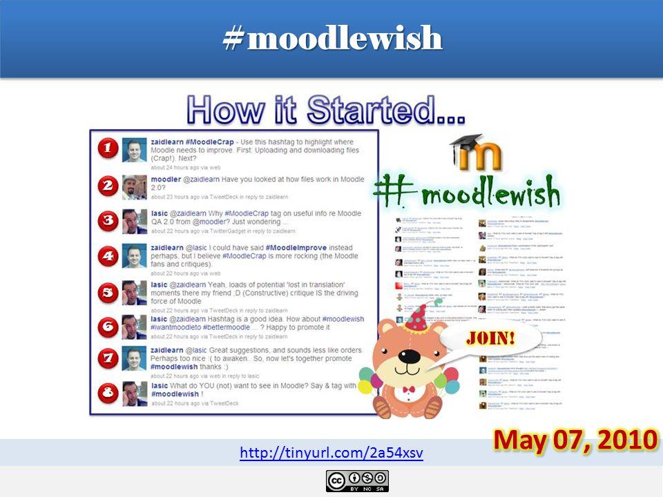 #moodlewish http://tinyurl.com/2a54xsv
