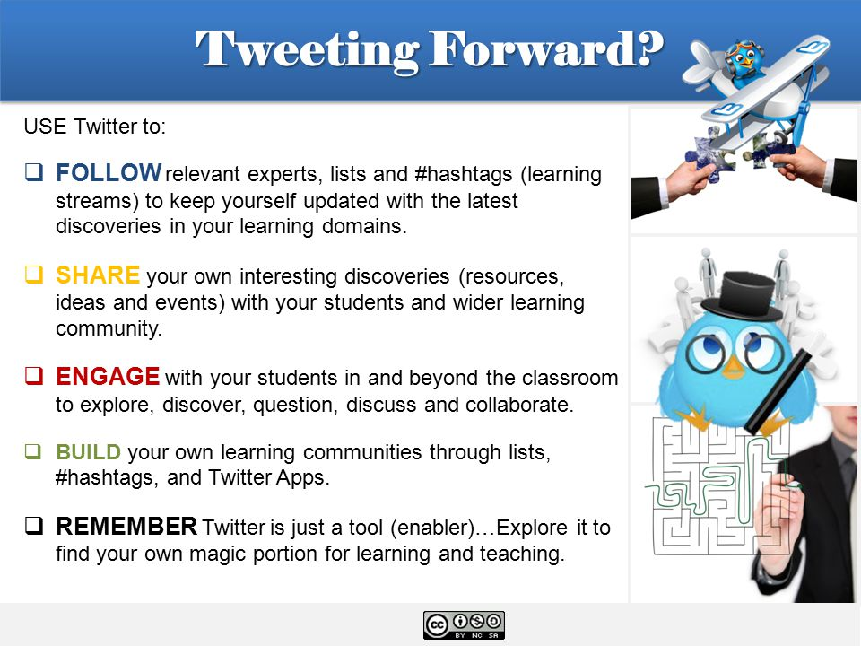 Tweeting Forward.