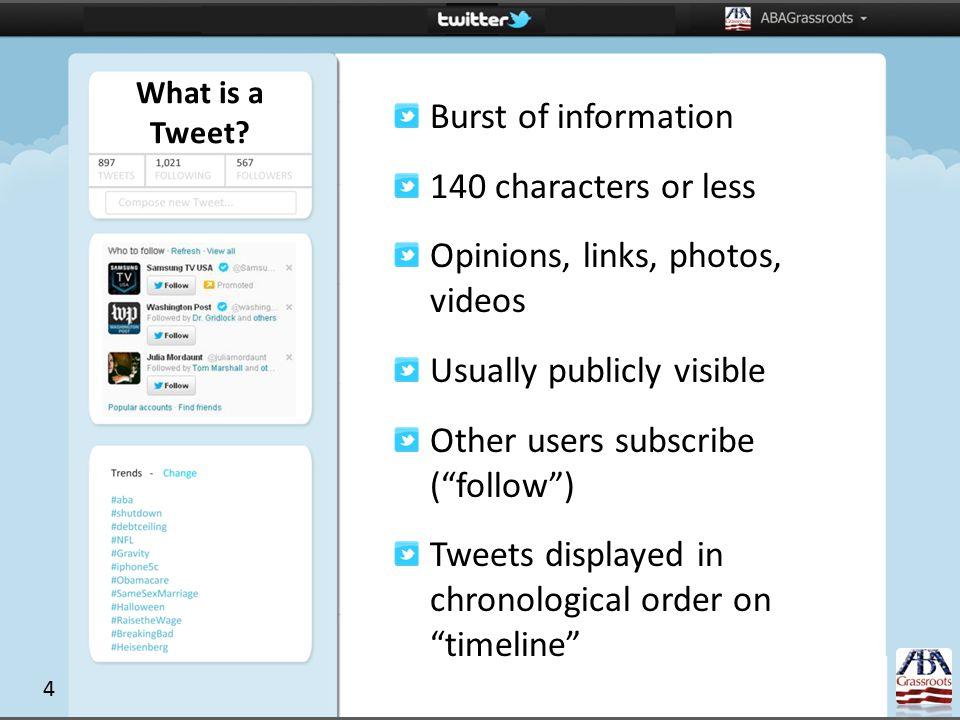 What is a Tweet.