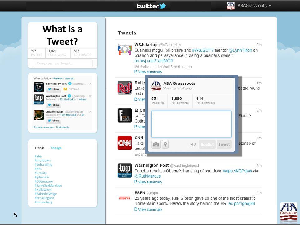 What is a Tweet? 5