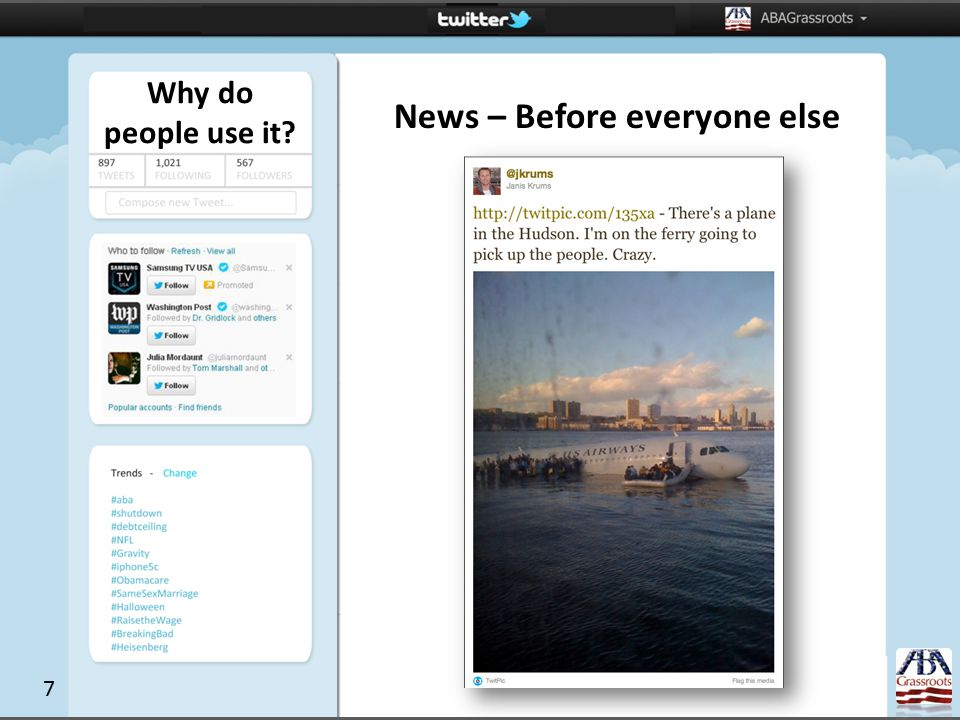Why do people use it News – Before everyone else 7