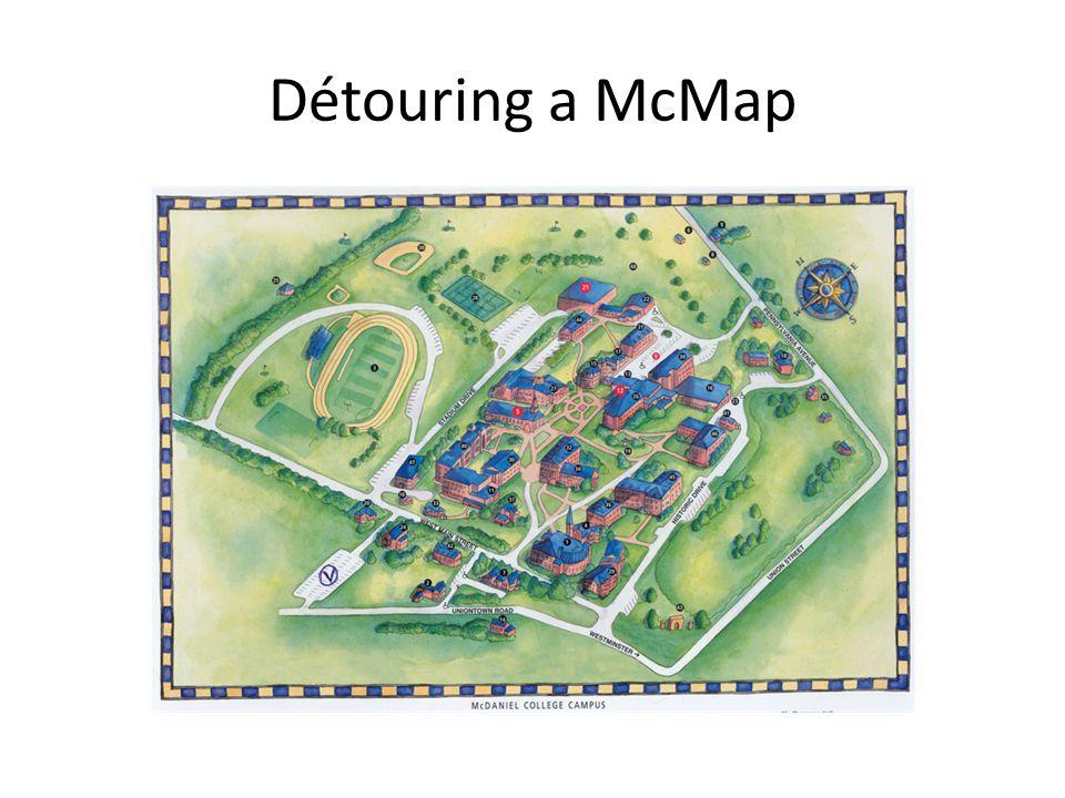 Détouring a McMap