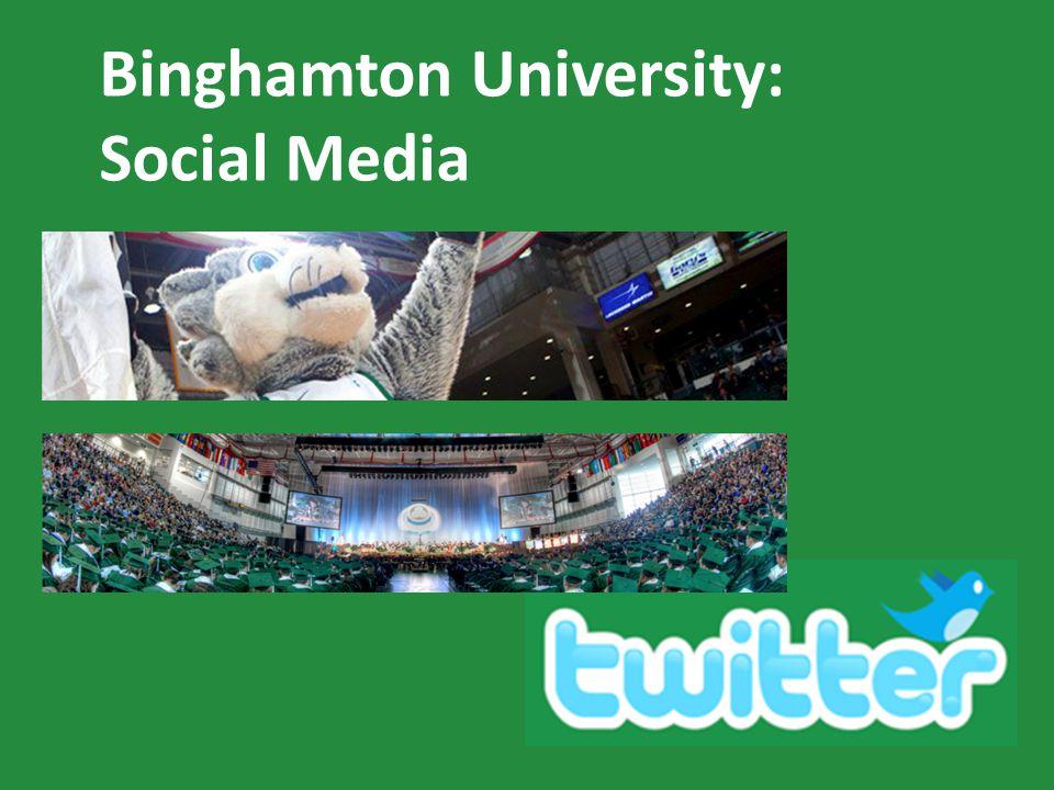 Binghamton University: Social Media
