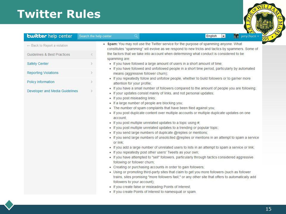 LOGO Twitter Rules 15
