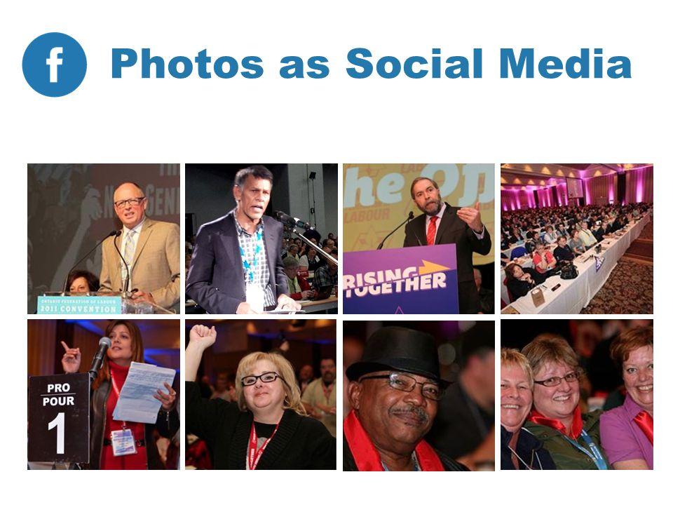 Photos as Social Media