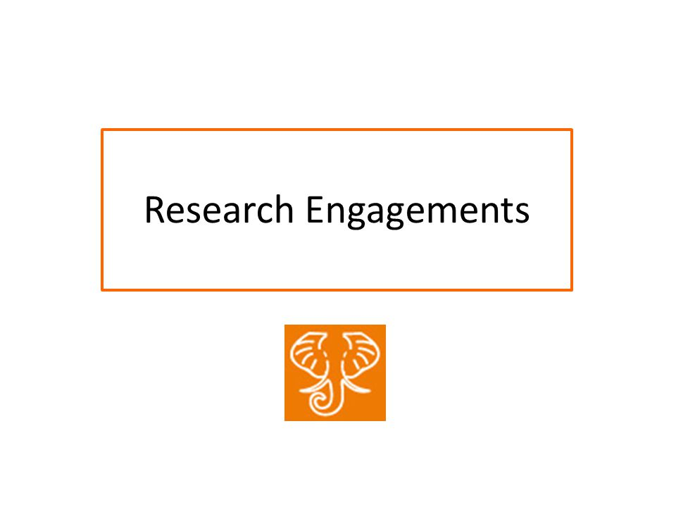 Research Engagements