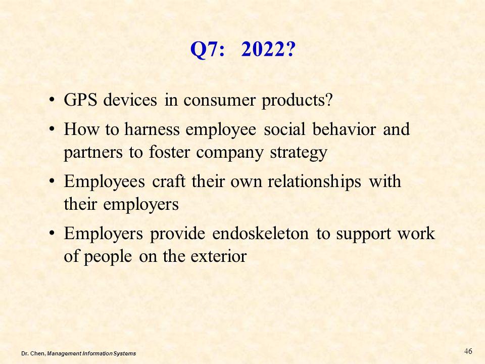 Dr.Chen, Management Information Systems Q7: 2022.