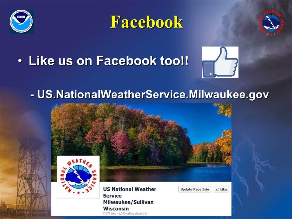 Facebook Like us on Facebook too!!Like us on Facebook too!.
