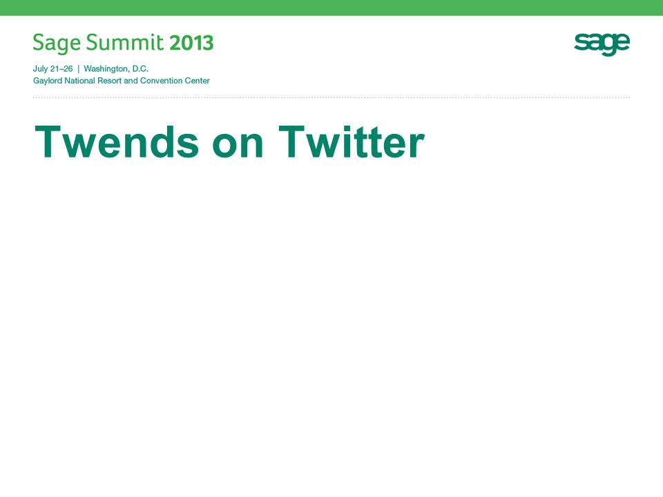 Twends on Twitter