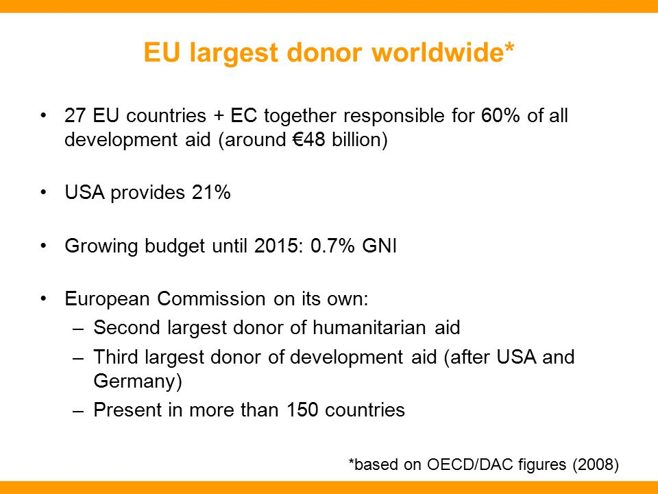 EU budget: What's in it for us.