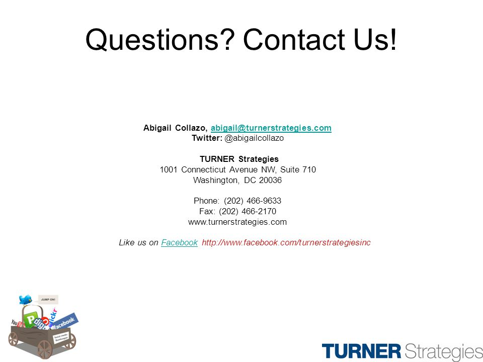 Questions. Contact Us.