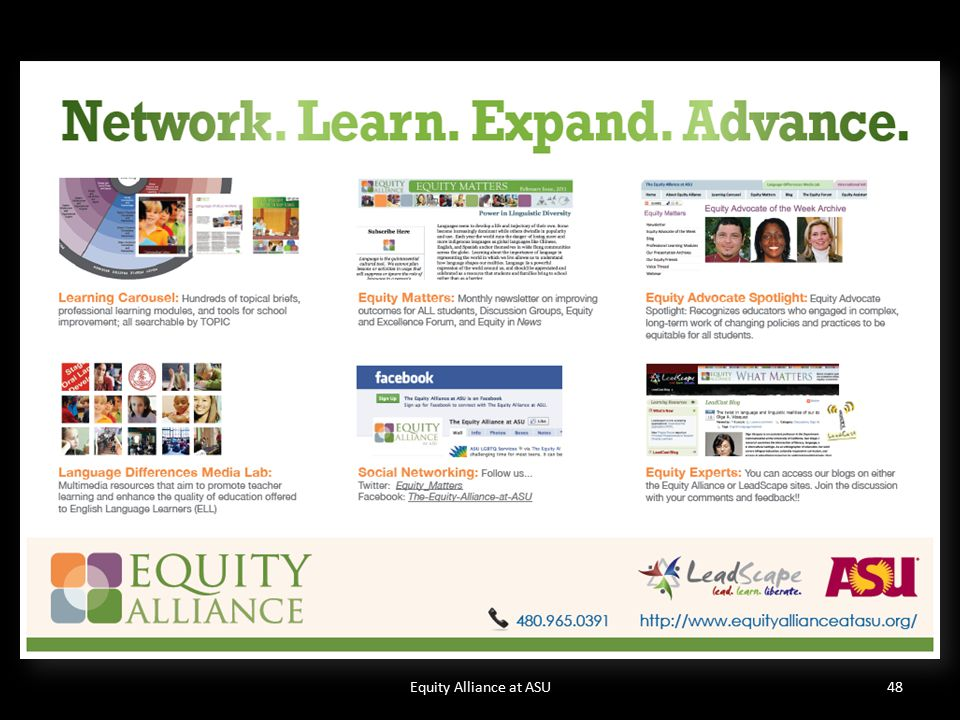 Equity Alliance at ASU48
